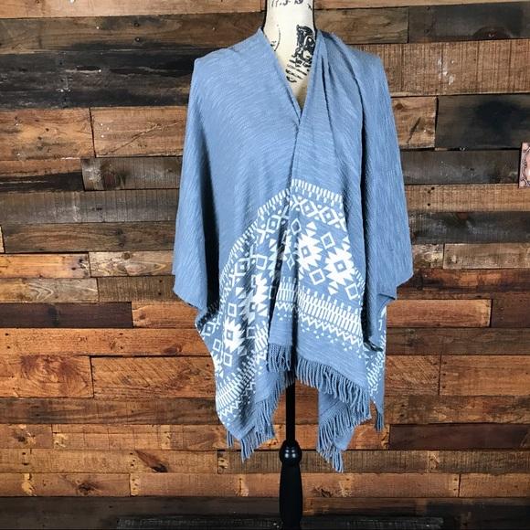 Mossimo Supply Co. Jackets & Blazers - Mossimo Supply Company Aztec Cape